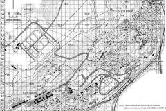 Рис. 1. Топографический план района исследований (Увек, 2006 г.)