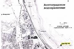 Рис. 1. Карта района исследований (Увек, 2002 г.)