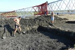 Спасательные археологические раскопки по трассе ЛЭП