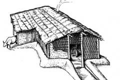 Срубная-культура.-Реконструкция-жилища-по-В.А.-Лопатину