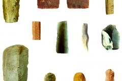 Археологические находки. Раскопки стоянок Пустынь I и Пустынь II.