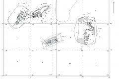 Рис. 3. Городище «Петровский городок»: план раскопа 2006 г.
