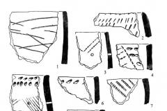 Рис. 2. Керамика срубной культуры.