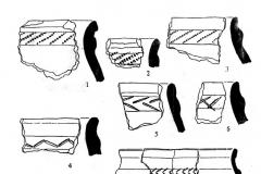 Рис. 6. Керамика хвалынской культуры.