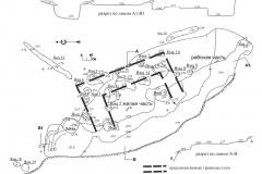 Рис. 3. Увекское городище. План жилища