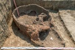 Печь для обжига керамики из поселения Варнавинское 3.
