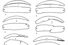 Рис. 3. Завьяловский клад. Изделия из меди (1-9)