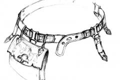 Рис. 2. Реконструкция пояса из кургана 8 у с.Усть-Курдюм