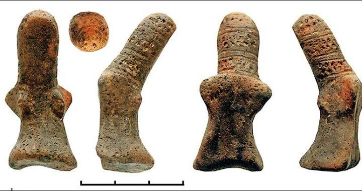 Статуэтка из раскопок Чекона