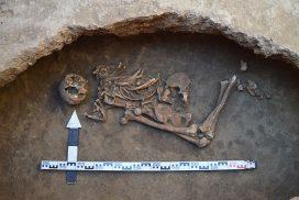 Погребение в катакомбе